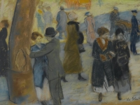 Brooklyn Museum - City Scene - William Glackens - overall