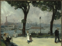 Brooklyn Museum - East River Park - William Glackens - overall
