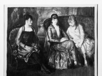 Brooklyn Museum - Elsie, Emma and Marjorie, Second Stone - George Wesley Bellows - overall