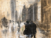 Brooklyn Museum - Fifth Avenue - Everett Shinn - overall
