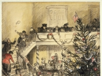 Brooklyn Museum - Merry Christmas (Yuletide Revels) - William Glackens - overall
