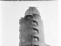 Potsdam, Einsteinturm während der Renovierung 1927/28