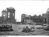 Dresden, Frauenkirche, Ruine (3 Mai 1952)