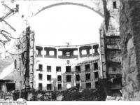 Dresden, zerstörte Semperoper (1945)