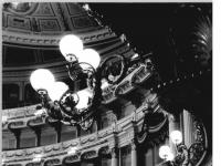 Dresden, Semperoper, Zuschauerraum, Ehrenloge (9 Februar 1985)