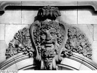Berlin, Bodemuseum, Detail (11 April 1985)