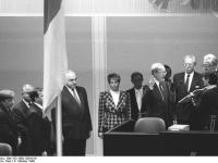 Berlin, Vereidigung Lothar de Maiziere 4.10.1990