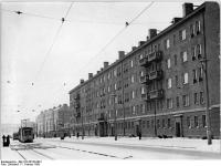 Bundesarchiv Bild 183-36108-0001, Berlin, Prenzlauer Berg, Kniprode-Straße, Wohnblocks, Winter