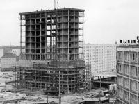 Berlin, Alexanderplatz, Baustelle (22.08.1963)