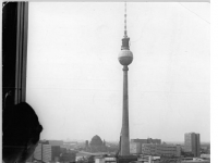 Berlin, Alexanderplatz, Fernsehturm (29 October 1970)