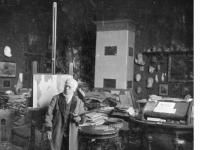 Adolph von Menzel in seinem Atelier (1903(1903))