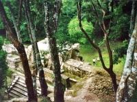 Maya-Ruinen von Cahal Pech , Belize