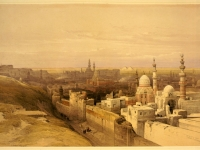 Cairo_east_view-David_Roberts
