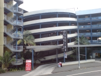 Car Parking Building In Auckland CBD