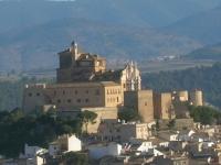 Caravaca de la Cruz Murcia Espana castillo santuario de la vera cruz