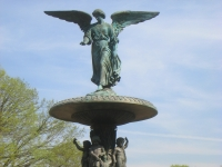 Central Park NYC - Angel of Waters statue by Emma Stebbins - IMG 5721