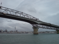 Central Span Of Auckland Harbour Bridge