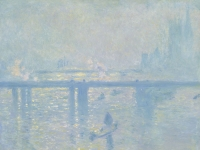 Claude Monet: Brücke Charing Cross, London (1899)