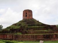Chaukhandi Stupa, Varanasi, Uttar Pradesh, Indien.