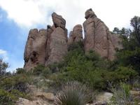 Chiricahua National Monument, im Südosten Arizona.