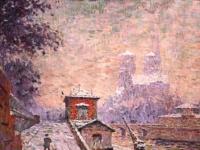 Claude Emile Schuffenecker Notre Dame de Paris