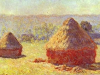 Claude Monet: Haystack. End of the Summer (1891)