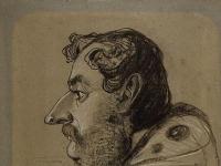 Claude Monet: Caricature of Jules Didier (1860)