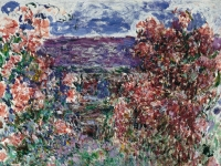 Claude_Monet_-_House_among_the_Roses,_the_(1925)