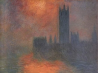 Claude Monet: Das Parlement, Sonnenuntergang (1904)