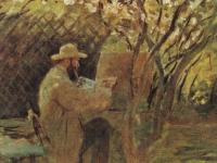 Claude_Monet_-_Manet_malt_im_Garten_Monets_in_Argenteuil