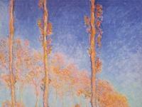 Claude Monet: Poplars (Autumn), 1891