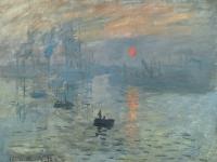 Claude Monet: Impression, soleil levant (1873)