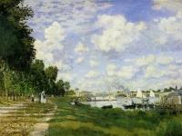 Claude Monet: Basin in Argenteuil (1872)
