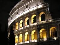 Kolosseum bei Nacht, Rom