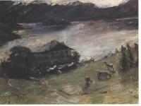 Corinth Lovis - Motiv vom Walchensee - 1923