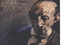 Corinth Lovis - Portrait Alfred Kuhn - 1923