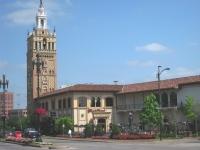 Country Club Plaza, KC MO - Giralda Tower in context