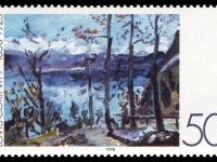 DBP 1978 986 Lovis Corinth - Ostern am Walchensee