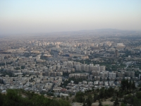 Damascus from Qasiyon