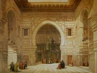 David Roberts El Ghoree Mosque