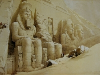 David_Roberts_Great_Temple_Aboo_Simbel