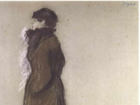 Degas_-_Frau_mit_Stadtkostuem