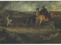 Degas_-_Mittelalterliche_Kampfszene