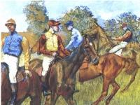 Degas_-_Rennpferde