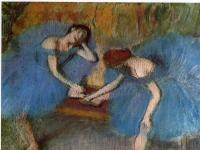 Degas_-_Zwei_Taenzerinnen