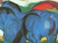 Franz Marc: Die Kleinen Blauen Pferde