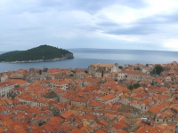 Dubrovnik, view on Old town from Minceta tower, Croatia