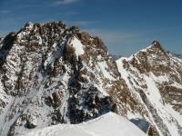 Dufour und Nordend, Monte Rosa Massiv, Walliser Alpen