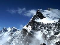 Dufourspitze und Strahlhorn, Walliser Alpen