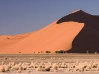 Düne 45, Sossusvlei Namib-Wüste, Namibia.